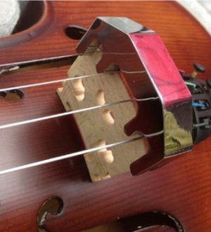сурдина за цигулка метална