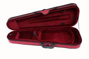 Олекотен калъф за цигулка по формата на цигулката CSV102 размер 4/4