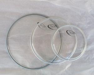 SCOTT кожи за рототоми комплект - прозрачни