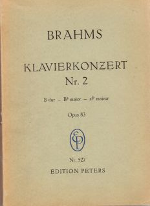 Брамс - Секстет оп.18 в си бемол мажор