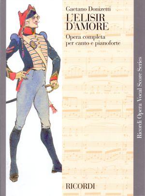 Доницети - Любовен елексир клавирно извлечение