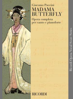 Пучини - Мадам Бътърфлай клавирно извлечение