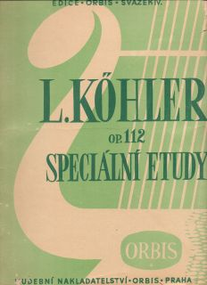 Кьолер Първи етюди оп.50
