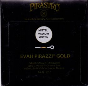 Pirastro Evah Pirazzi Gold Chrome Steel единична струнa за чело - A