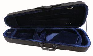 Олекотен калъф за цигулка по формата на цигулката CSV102 размер 4/4 черен
