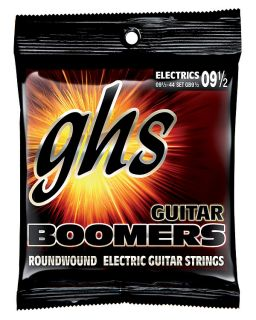 GHS Boomers  electric guitar strings GB10 1/2 - 010 1/2-048