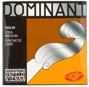 Thomastik Dominant струни за цигулка комплект 135BA (с D Silver/Synthetic)