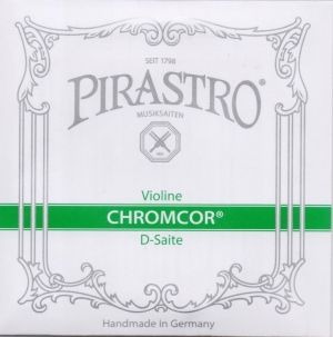 Pirastro Chromcor струна за цигулка D Chromsteel/Steel