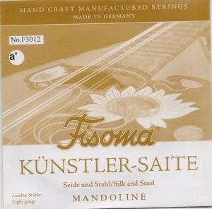 Fisoma Künstlersaite - pair strings for Mandoline - е'