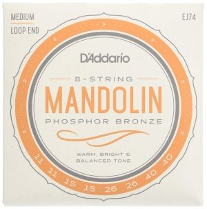 D'addario strings for mandolin EJ74