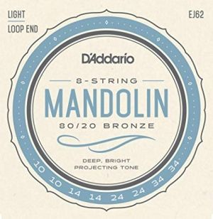 D'addario strings for mandolin EJ62
