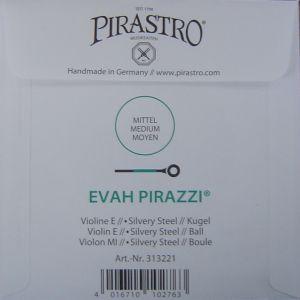 Evah Pirazzi Е silvery steel за цигулка