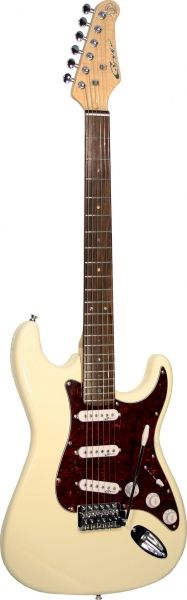 Career Stage- S E-VM Guitar  White Tortoise