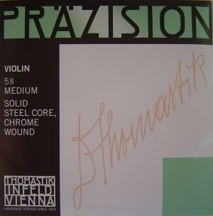 Thomastik Precision струна за цигулка комплект Solid Steel Core/Chrome Wound