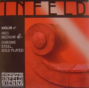 Thomastik Infeld red струна за цигулка E Chrome Steel/Gold Plated