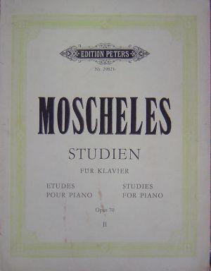 Мошелес Студии за пиано Банд I и II