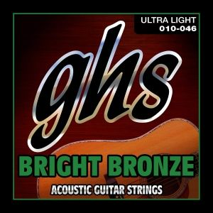 GHS Bright Bronze Acoustic 010 - 046