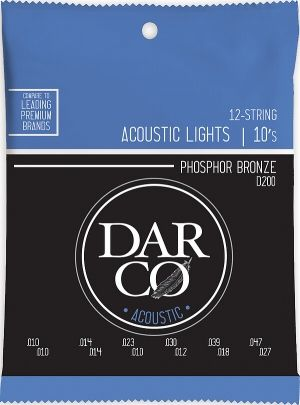 Darco D-200 Ph.Br. 12-Str. Light 010/047
