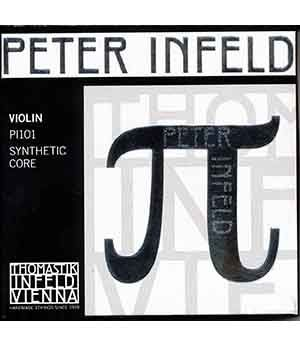 Thomastik Peter Infeld струни за цигулка комплект PI101(с E Chrome Steel/Tin plated)