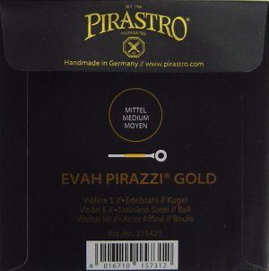 Evah Pirazzi Gold - единична струна Е за цигулка - неръждаема стомана