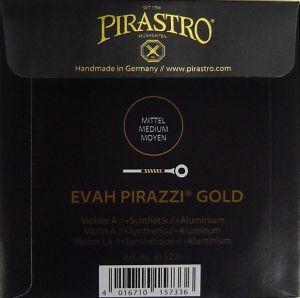 Evah Pirazzi Gold - единична струна A за цигулка - синтетична с алуминиева намотка