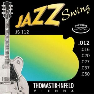 Jazz Swing Flat Wound струни за китара - JS112