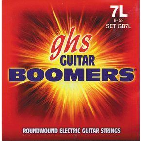 GHS струни за 7-струнна електрическа китара Boomers - GB7L - 009-058