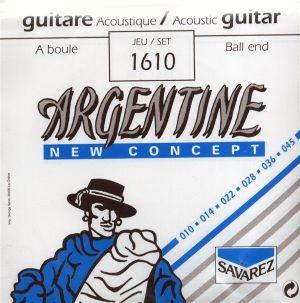 Argentine струни за акустична китара комплект медиум