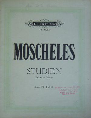 Мошелес - Студии - Етюди оп.70 Банд II