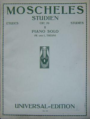 Мошелес - Етюди за пиано том I и II