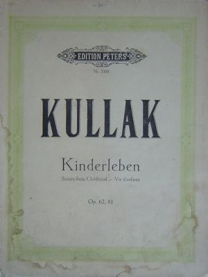 Кулак Kinderleben оп.62 и оп.81