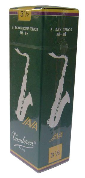 Vandoren Java платъци за Tenor saxophon размер 3 1/2 - кутия