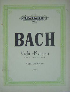 Бах Концерт за цигулка в сол минор