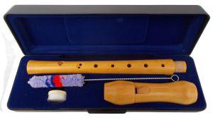 Сопранова дървена блокфлейта RE58