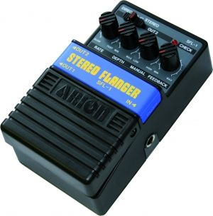 Arion Stereo Flanger Effects Pedal - SFL-1