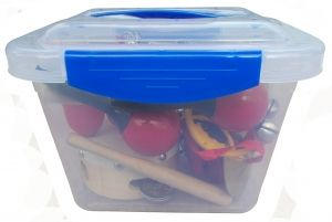 Кутия с 13 броя детски ударни инструменти LT10