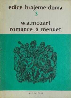 Моцарт-Роамнс и  менует за 2 цигулки,виола и виолончело