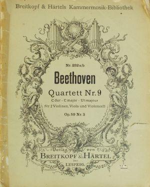 Бетховен - Квартет оп.18 nr.9 за две цигулки,виола и виолончело