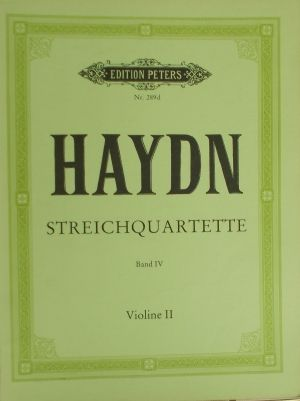 Хайдн - Струнни квартети band 4 ,2ра цигулка