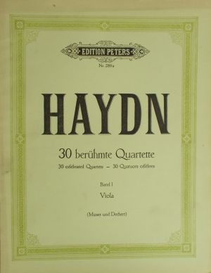 Хайдн - 30 известни квартети band 1 виола