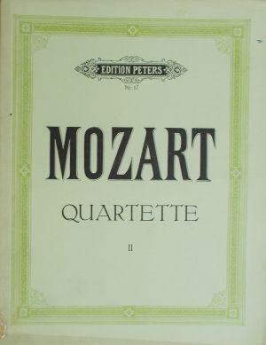 Моцарт - Квартети 2 за две цигулки,виола и виолончело