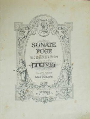 Моцарт - Соната и Фуга за 2 пиана