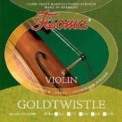 Fisoma Goldtwistle струни за цигулка размер 3/4 - комплект