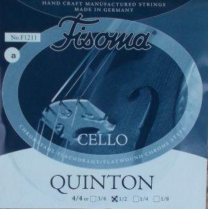 Fisoma Quinton единична струна за виолончело 1/2 -  a(ла)