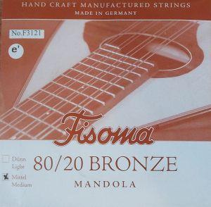 Fisoma Bronze-единична струна за мандола  -e'