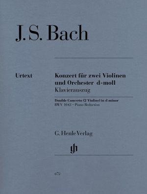 Бах - Концерт в ре минор  BWV 1043 за 2 цигулки и оркестър