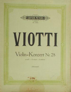 Виоти - Концерт за цигулка   Nr.28 ла минор