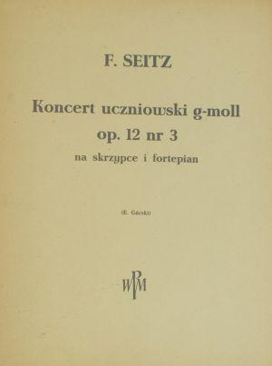 Зайц - Концерт оп.12 Nr.3 сол минор