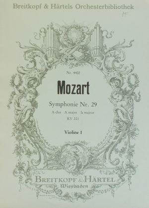 Моцарт-Симфония №29 ла мажор KV 201