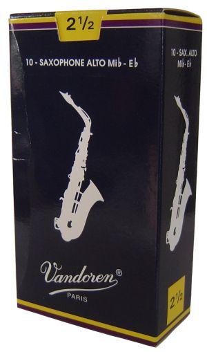 Vandoren Платъци за Alt sax размер 2 1/2 - кутия